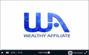 Affiliate Program Walkthrough of Wealthy Affiliate
